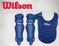 Wilson MaxMotion Catcher's Gear