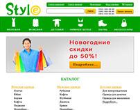 Clothing Internet-Store Design