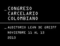 _Congreso Carcelario Colombiano