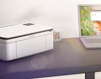Samsung Printer - CJX-1050W