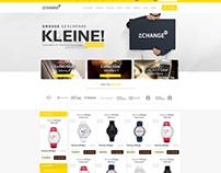 Shop Web Design SOLD