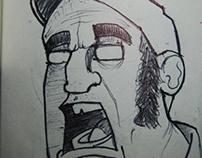 Sketchbook Bic #2... 2013