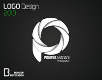 Pourya Madadi Photographer [ Logo Design ]