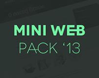 MINI WEB PACK '13