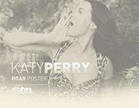 Katy Perry - Roar / Poster