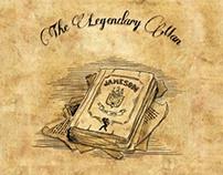 The legendary man book