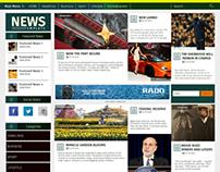 News Wordpress Template