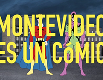 Campaña para Montevideo Comics 2011