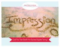 Impression Etiquette Postcards