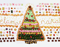 Christmas in Indonesian Traditional Cookies