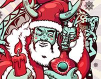 Santa and Dragon