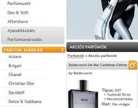 Parfumcenter.hu redesign