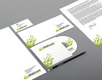 Logo and corporate identity of Sklad.kom