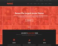 Awaaz Music & Event Theme