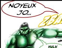 Hulk and Santa Klaus
