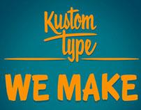 We Make Fonts!