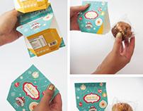 Fruitcake Packaging Pan de Pascua Nutrabien