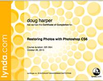 Photo Restoration Certification