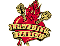 Unwanted Tattoo  Special 'RUMBLE' edition!!! CD & BOX