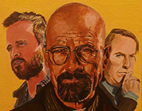Breaking Bad on Canvas