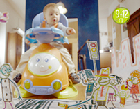"""Chicco """"Toys 2013 ads"""""""