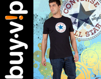 Buy VIP Converse Campaign