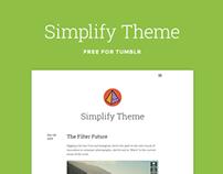 Simplify Tumblr Theme (Free)