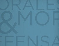 Morales & Moral Identity and Brochure