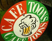 Cafe Toons menu design