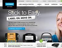 Dymo.com Redesign - Preliminary Concept