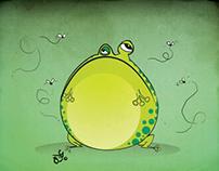 Lazy Frog concept design
