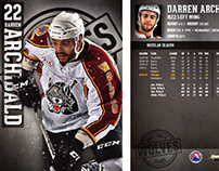 Chicago Wolves 2012-13 Trading Cards