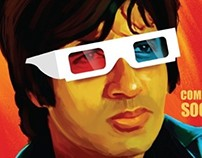 sholay 3d solo posters