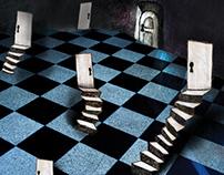 """Alice in Wonderland"" interactive illustration"