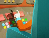 Illustrations for Artflash Interactive