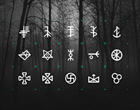 Slavic Pottery Symbols