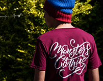 Monsters Clothing Lettering