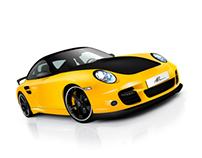 Porsche 911 (vector)