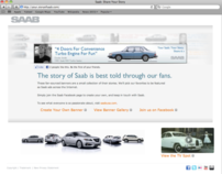 YOUR SAAB. YOUR STORY. SHARE IT. FACEBOOK APP AND SITE