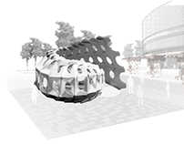 Temporary Pavilion inspired by Bio-structure
