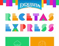 Exquisita, Recetas Express - Responsive Web Design