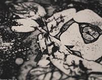 rose (etching)
