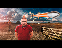 William Tell Composite Image for Digital Photo magazine