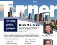 Turner at a Glance: One-Pager