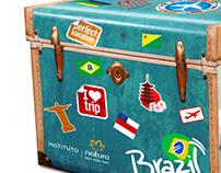 Travel Suitcase - Instituto Natura