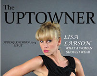 The UPTOWNER-Magazine Layout-for Indesign Class