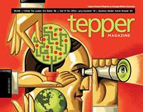 Tepper School Alumni Magazine, Winter 20011