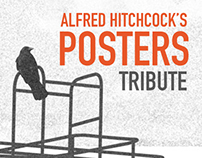 Hitchcock's posters tribute