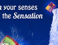 Splash your senses.
