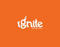 Ignite Development Logo Design